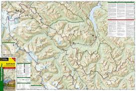 Jasper National Park Canada Map by Banff North Banff And Yoho National Parks National Geographic