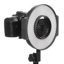 ring light for video camera f v lighting r 300 led ring light with l bracket bundle with milk
