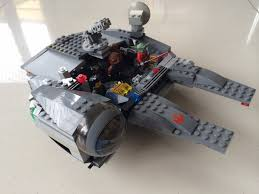 build your own lego millennium falcon star wars by disney arafen