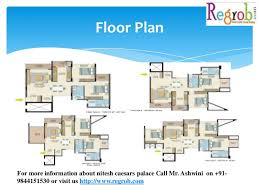 Caesars Palace Floor Plan Nitesh Caesars Palace Kanakapura Road Bangalore