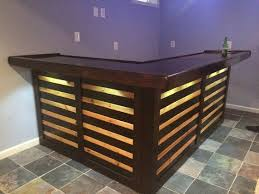 l shaped bar table pallet bar pallets pallet wood and plywood