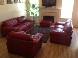 red cindycrawford home leather couch set youtube