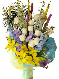 Yellow Lilies Yellow Lilies And White Roses Bouquet Event Flowers Ny