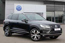 volkswagen jeep touareg used volkswagen touareg 2017 for sale motors co uk