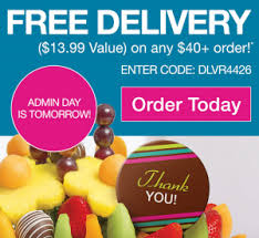 edible delivery edible arrangements free delivery 13 99 value