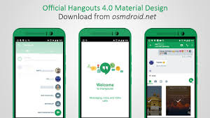 hangouts apk hangouts 4 with material design is here official apk