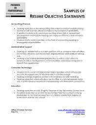 career goal examples for resume career goal examples career