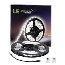 le better lighting experience amazon com le 16 4ft led flexible light strip 300 units smd 2835