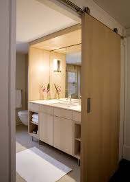 modern barn doors bathroom modern with none beeyoutifullife com