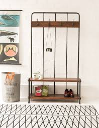25 best collection of entry hall coat rack bench
