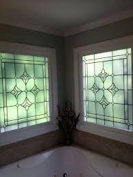 decorative windows for bathrooms bathroom window privacy film