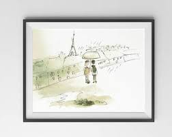 paris sketch etsy