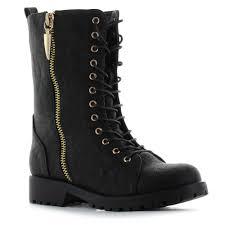 womens combat boots mr zipper s combat boots