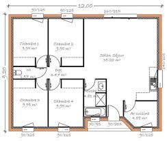 plan plain pied 5 chambres charming plan de maison plain pied 5 chambres 10 plan maisons