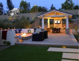 Diy Outdoor Living Spaces - gorgeous outdoor pavilion for high end backyard living space