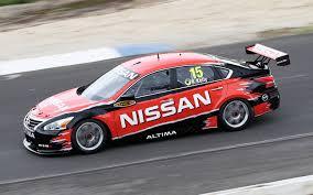 nissan altima 2016 australia nissan altima v8 supercar gets shakedown run in australia