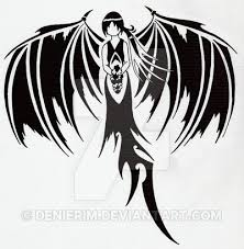 broken wings design by denierim on deviantart