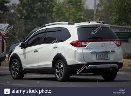 chiang mai thailand april 10 2017 private new suv car honda