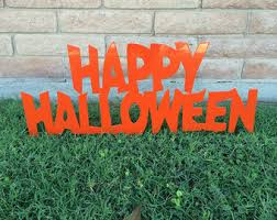 ghost halloween decor halloween yard sign halloween ghost