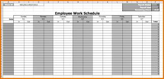 work schedule template excel employee work schedule template png