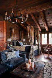 Interior Of Log Homes by Bedroom Log Cabin Bedrooms Lodge Bedroom Glass Poster Irregular