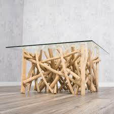 Wohnzimmertisch Treibholz Designer Couchtisch Drift Treibholz 80cm Natur 5681
