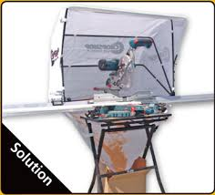 table saw dust collector bag sawdust how to improve a sliding miter saw dust collection