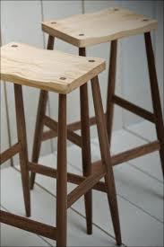 furniture breakfast bar with stools black padded bar stools