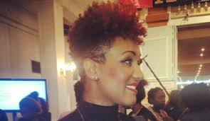oval face with tapered afro haircut tribe called curl the new curl order for natural hair