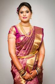 traditional dress up of indian weddings gorgeous southindianbride in pink silksaree south indian