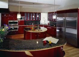 modern curved kitchen island curved kitchen island design
