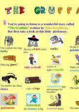 english worksheets gruffalo worksheets