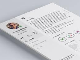 resume cv 33 free resume cv templates to help you get your naldz