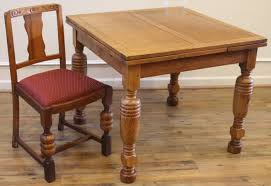 Oak Bistro Table Antique Oak Pub Table And 4 Chairs Dining Set For Sale