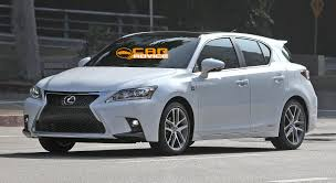 lexus ct200h vs bmw 1 2014 lexus ct200h f sport hybrid hatch spied camouflage free