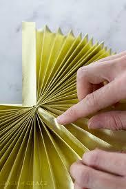 diy paper fans paper fan paper rosette diy dash of grace