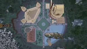Hunger Games World Map by Hunger Games Arena The City Of Medquart Maps Mapping And