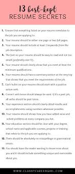 1000 Ideas About Good Resume Exles On Pinterest Best - exles of resumes 89 astounding professional resume sle job