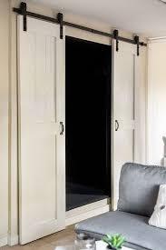 Interior Bathroom Doors by Best 25 Barn Door Closet Ideas On Pinterest Sliding Barn Doors