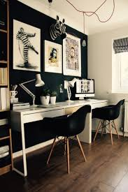 Designer Home Office Furniture Best 20 Black Office Ideas On Pinterest Black Office Desk