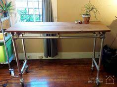 Steel Pipe Desk by Steel Pipe Standing Desk Apartment Design Pinterest Pipes