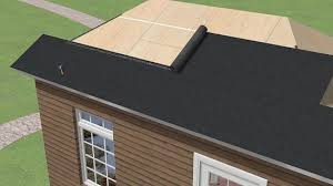 Shingling A Hip Roof Simple Ways To Apply Rolled Roofing Wikihow