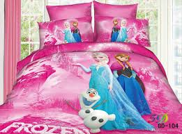 Childrens Bedroom Bedding Sets 3d Frozen Anna Elsa Snowman Bedding Sets Queen King Size 100