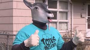 Totes Magotes Meme - does niagara falls creepy recycling mascot want your trash or