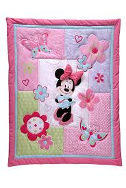 Baby Mickey Crib Bedding by Disney Minnie Mouse 4 Piece Crib Bedding Set Amazon Ca Baby