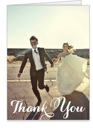 wedding thank you postcards show me your photo thank you cards vistaprint or other