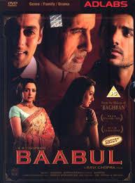 film indo romantis youtube baabul 2006 film wikipedia