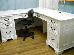 Large White Desk With Drawers Best 25 White Corner Desk Ideas On Pinterest At Home Office