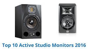 black friday studio monitors 10 best active studio monitors 2016 youtube