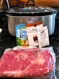 3 Crock Pot Buffet Recipes by Rita U0027s Recipes Savory Crock Pot Roast